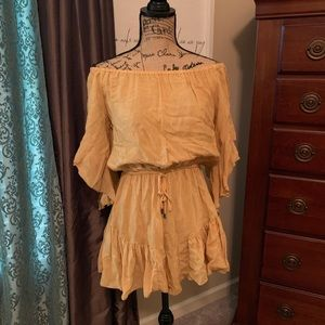 Yellow Elan romper